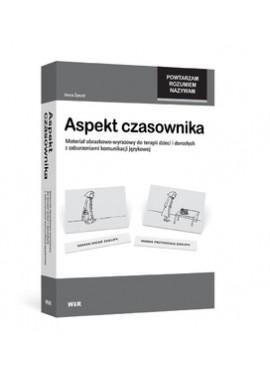 Aspekt czasownika - Materiał obrazkowo-wyrazowy do terapii dzieci i dorosłych z zaburzeniami komunikacji językowej