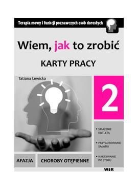 Wiem, jak to zrobić - Karty pracy - cz. 2