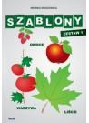 Szablony - owoce, warzywa, liście - Zestaw I