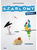 Szablony - Ptaki, zwierzęta - Zestaw III