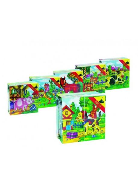 Klocki Puzzle Mini 4