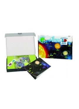 Układ Słoneczny Puzzle 3D