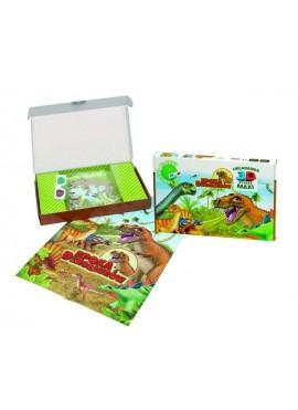 Dinozaury Puzzle 3D