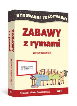 ZABAWY Z RYMAMI - Rymowanki Zgadywanki (Zestaw czerwony)