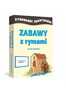 ZABAWY Z RYMAMI - Rymowanki Zgadywanki (Zestaw niebieski)
