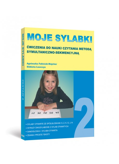 MOJE SYLABKI - Zestaw 2
