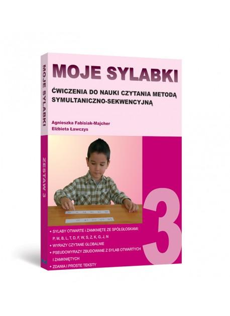 MOJE SYLABKI - Zestaw 3