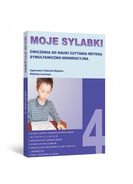MOJE SYLABKI - Zestaw 4